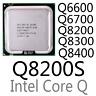 intel Xeon Q6600 Q6700 Q8200 Q8200S Q8300 Q8400 LGA775 CPU Processor