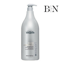 LOREAL PROFESSIONNEL SERIE EXPERT SILVER SHAMPOO (1500ML) AND PUMP (WORTH £59)