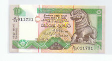 Sri Lanka Ceylon 10 rupees Banknote UNC 1994