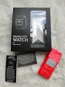 Paprcuts Watch Armbanduhr Uhr orange neu