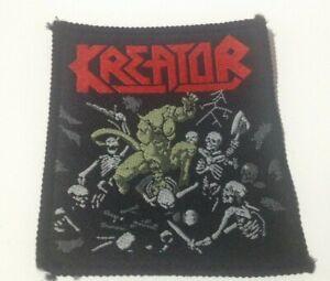 Kreator Pleasure To Kill vintage 1980s SEW ON PATCH