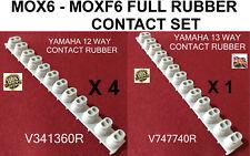 Yamaha MOX6 MOXF6 Full 61 key rubber contact Set 4x12way, 1x13way UK