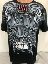 Dale Earnhart Jr 88 T Shirt Men Size L National Guard Always Ready Always There
