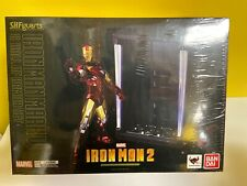 S.H. FIGUARTS IRON MAN MARK VI & HALL OF ARMORS SET IRON MAN 2 NIB