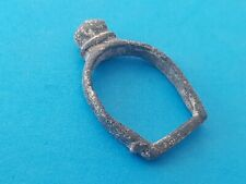Lovely Medieval bronze buckle in uncleaned condition found in Britian. L151i