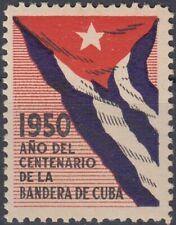 VI-327 SPAIN ANT. CINDERELLA. 1950. CENT DE LA BANDERA. FLAG. MNH.