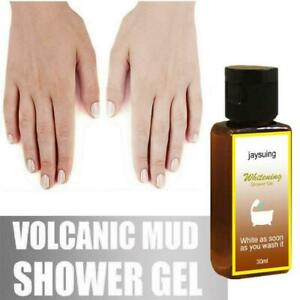 Volcanic Mud Shower Whole Body Wash Whitening Deep Clean  Exfoliate Skin Care