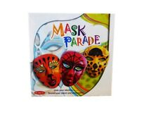 Mask Parade Decorate Your Own Masks - Craft Sets - Arts & Crafts - Creative Toys