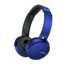 Sony MDR-XB650BT/L (Blue) Bluetooth Extra Bass Headphones w/Mic