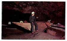 Jesse James Loot, Strongbox & Guns Meramec Caverns Route 66 Stanton, MO Postcard