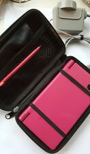 Nintendo DSi PINK very good condition with charger, case and 2 matching stylus