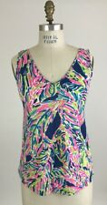 Lilly Pulitzer Gigi Double V Palm Reader Tank Top Size S