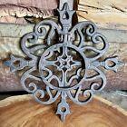Vintage Spanish Style Cast Iron Door Knocker Ornament Door / Gate