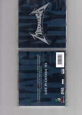 Metallica live CD: Naughty Vol 1 Live In Canada 1992 And Justice For All & One