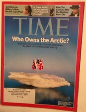 THE ARTIC TIME MAGAZINE OCTOBER  1 2007 VERY GOOD