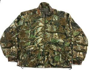 Cabelas ScentLok Camo Heavy Fleece Hunting Jacket XL Regular Mens Scent Lok