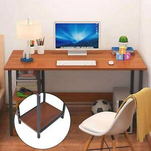 100CM Home Office Computer PC Desk Table Wood Kid Writing Study Workstation UK