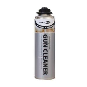 Bond It Expanding Foam Gun Cleaner Contractors Grade Pu 500ml Aerosol Spray Can
