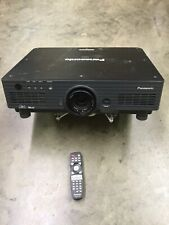 Panasonic DLP Projector (PT-DW5100U) Dual Lamp W/ Mount And Remote
