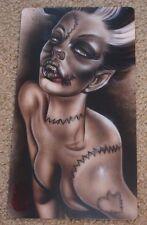 JOE CAPOBIANCO Art Print 6X11 BLOODY STITCH Poster tattoo artist
