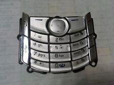 GENUINE ORIGINAL REPLACEMENT PLASTIC KEYPAD - NOKIA 6680 MOBILE PHONES - SILVER
