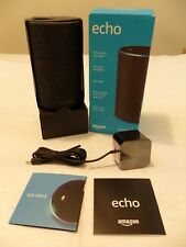 * NEW OPEN BOX * Amazon Echo 2-Way Smart Speaker 2nd Generation - Charcoal