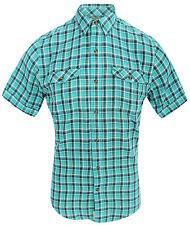 Timberland Regular Short Sleeve Check Men's Casual Shirts & Tops