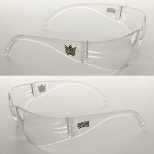 6 Pairs of New NRL Titans Safety Glasses Clear Lens Merchandise AS/NZS1337.1