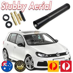 Antenna Aerial Stubby Bee Sting for Volkswagen VW MK4 MK5 R32 GOLF Black 7.5cm