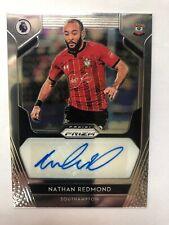 2019/20 Panini Prizm Premier League Nathan Redmond Autograph Southampton