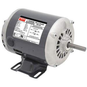 DAYTON 6XH82 GP Motor,1/2 HP,1,725 RPM,115V AC,56Z