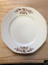 "Vintage Homer Laughlin Floral Bird 10"" Plate PreownedKitchen.com China"