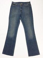 Wrangler reg body bootcut donna jeans denim w32 tg 46 usato vintage T986
