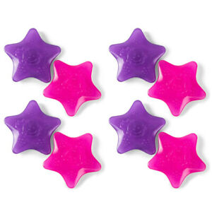 8pc Heinz Baby Basics My Little Star Teether Chew Baby Teething Toy Pink/Purple