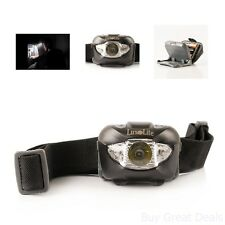 LED Headlamp Flashlight With Red Light Brightest Headlight Camping Backpacking