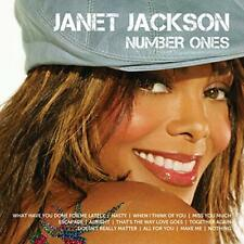 Janet Jackson Cd - Icon: Number Ones (2010) - New Unopened - Pop - Greatest Hits
