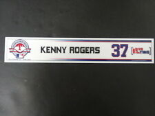 Kenny Rogers 2004 MLB Opening Day Locker Room Nameplate
