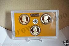 2016-S Proof Presidential Dollars 3 Clad Coins Nixon Ford Reagan $1 NO BOX / COA