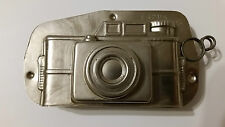 CAMERA PHOTO TIN PEWTER CHOCOLATE MOLD VINTAGE ANTIQUE N°16205