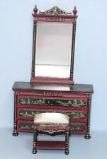 HANSSON DRESSER/MIRROR  MINIATURE DOLL HOUSE FURNITURE