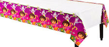 "DORA THE EXPLORER PARTY SUPPLIES PLASTIC TABLE COVER / TABLE CLOTH 54"" x 96"""