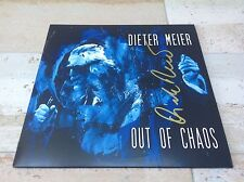 Dieter Meier - Out of Chaos (LP Vinyl) 2014 signed record NEW  Yello Boris Blank