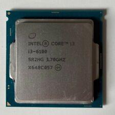 Intel Core i3-6100 3.7Ghz, 6th Gen, LGA1151 Socket, CPU and Fan