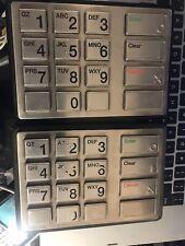 a lot of 2 Sagem Diebold approval module 49-205468-000A R01 Epp4 keyboard