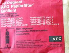 GROBE 9 AEG 10 sacs pour aspirateur AEG VAMPYRETTE