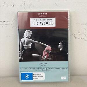 Ed Wood (DVD, 2010) Region 4 VGC + Free Postage