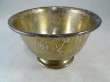 Antique Sterling Silver Finger Bowl Dish Baldwin & Miller 164.3 grams Vintage