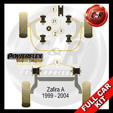 Vauxhall Opel Zafira A 99-04 Powerflex Black Kit SRi/GSi models 2.0T Z20LET