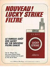 PUBLICITE  1966   LUCKY STRIKE    cigarettes