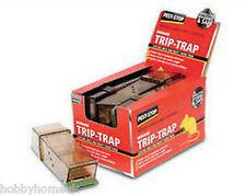 Procter Trip Trap Humane Plastic Mouse Trap x 5 Pest Control Rat Rodent